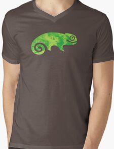 Linux SUSE Mens V-Neck T-Shirt