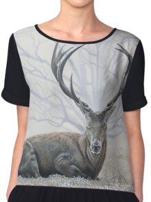 My Deer Chiffon Top