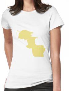 Nagisa WInter Uniform Yellow - Clannad Womens Fitted T-Shirt