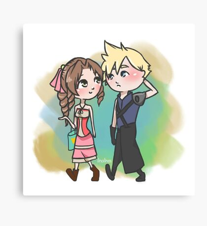 Clerith Shopping Canvas Print