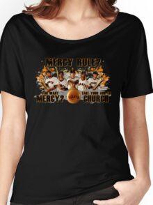 Giants Mercy Rule (Dark) Women's Relaxed Fit T-Shirt