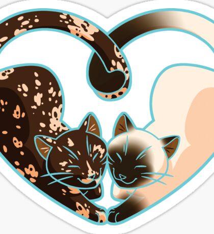 Kitty Love [Tortie/Seal Point] Sticker