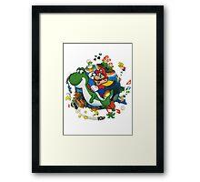 Super Mario World Framed Print