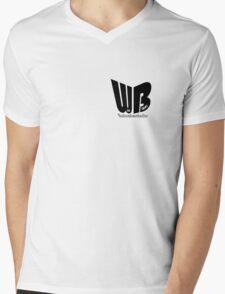 WB - Wie Blöd -Aufnahmehallen Mens V-Neck T-Shirt