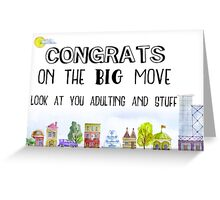 New Home - Congrats Greeting Card