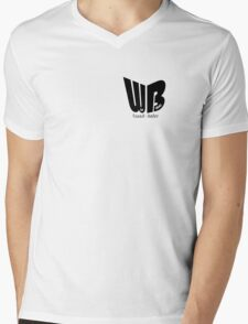 Wie Blöd  Mens V-Neck T-Shirt
