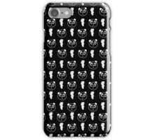 Panda Wallpaper - Black & White iPhone Case/Skin