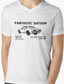Datsun 180B SSS P610  Mens V-Neck T-Shirt
