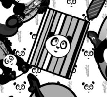 Panda Mix - Black Sticker