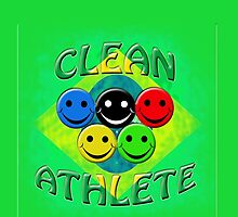 clean athlete Brazil by gruntpig
