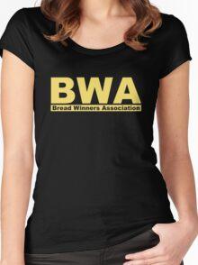 Bread Winners Association  Women's Fitted Scoop T-Shirt