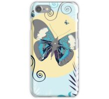 Butterflies in the day iPhone Case/Skin