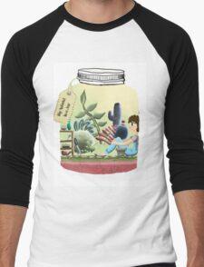My World In A Jar Men's Baseball ¾ T-Shirt
