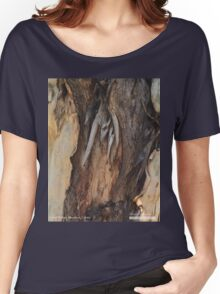Tree Bark Women's Relaxed Fit T-Shirt