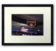 Change Framed Print