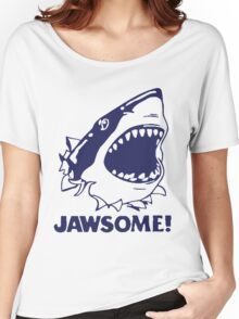 Funny Jawsome Jaws Shark  Women's Relaxed Fit T-Shirt