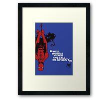 Spider-Man Poster Framed Print