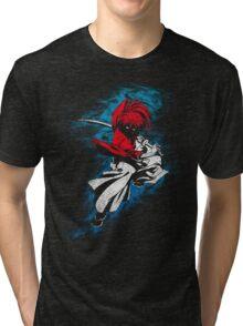 battousai grunge Tri-blend T-Shirt