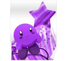 Grape Kirby Poster