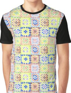 Granny Squares Graphic T-Shirt
