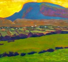 Muckish from Falcarragh Sticker