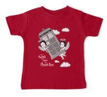 The Angels have the Phone Box - Version 3 BW (for dark tees) Baby Tee