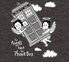 The Angels have the Phone Box - Version 3 BW (for dark tees) Unisex T-Shirt