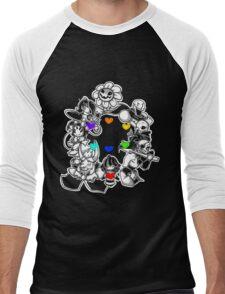 Undertale v2 Men's Baseball ¾ T-Shirt
