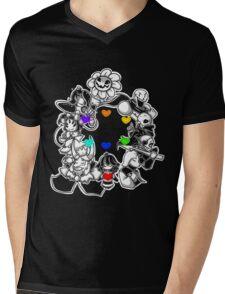 Undertale v2 Mens V-Neck T-Shirt