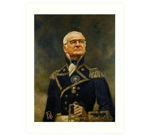 Sir Claudio Ranieri - the tinkerman Art Print