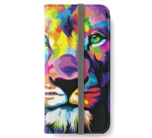 Colorful Lion iPhone Wallet/Case/Skin