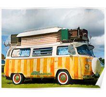 VW Stripes! Poster
