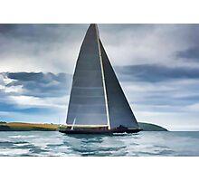 J Class Yacht Photographic Print