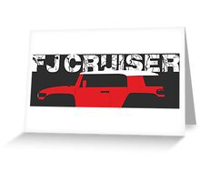 FJ Cruiser  Greeting Card