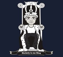 Moriarty is our King (Black and White Version) One Piece - Long Sleeve