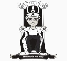 Moriarty is our King (Black and White Version) One Piece - Short Sleeve