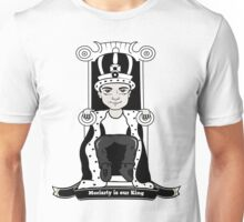Moriarty is our King (Black and White Version) Unisex T-Shirt