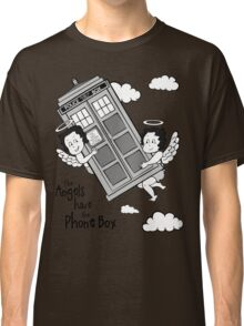 The Angels have the Phone Box - Version 3 BW (for light tees) Classic T-Shirt