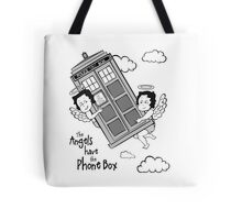 The Angels have the Phone Box - Version 3 BW (for light tees) Tote Bag