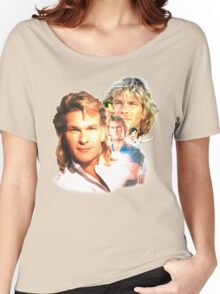 Patrick Swayze Mural Women's Relaxed Fit T-Shirt