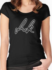 Fuck Women's Fitted Scoop T-Shirt