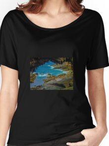 Wild coastline Women's Relaxed Fit T-Shirt