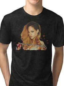 rihanna 09 Tri-blend T-Shirt