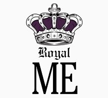 Royal Me - Purple Womens Fitted T-Shirt