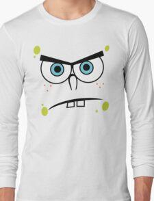 Spongebob Angry Face Long Sleeve T-Shirt
