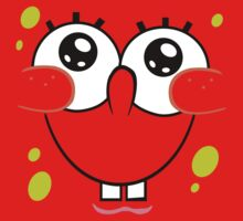 Spongebob Cute Face One Piece - Long Sleeve
