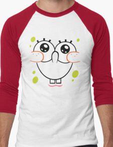 Spongebob Cute Face Men's Baseball ¾ T-Shirt
