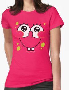 Spongebob Cute Face Womens Fitted T-Shirt