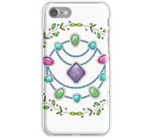 Gems And Beads iPhone Case/Skin