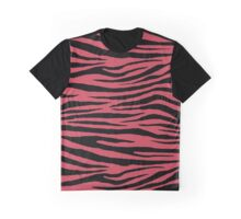 0062 Brick Red Tiger Graphic T-Shirt